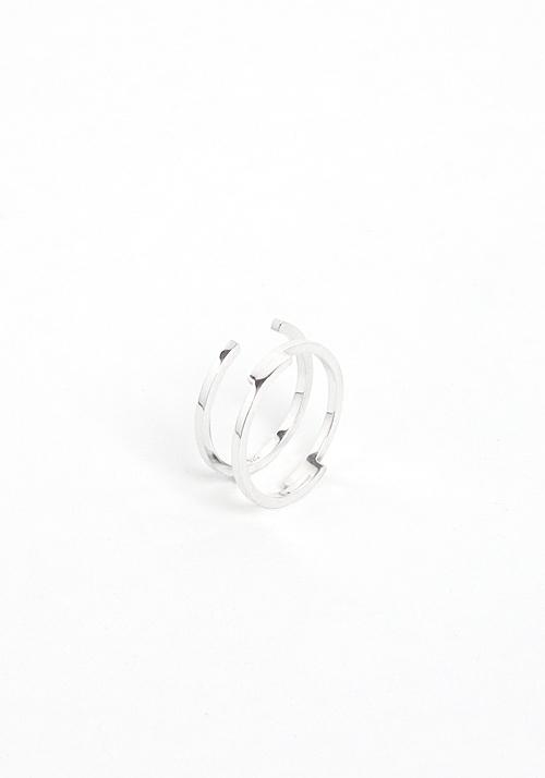 Ring IX 01  & IX 02 Silver